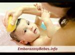 Como y Cuando Bañar al Bebé Recién Nacido