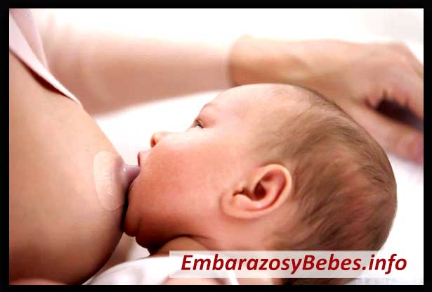 lactancia materna con pezoneras