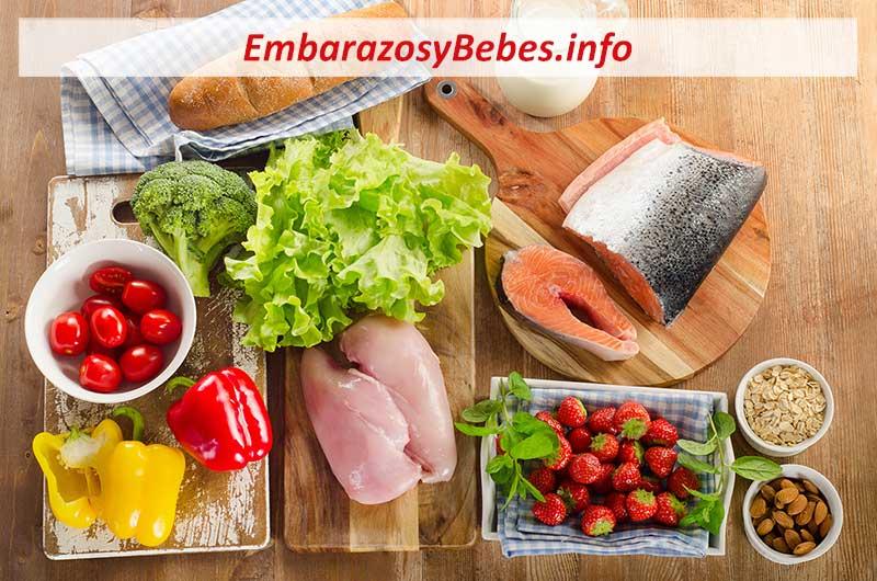 Dieta para bajar de peso despues del embarazo