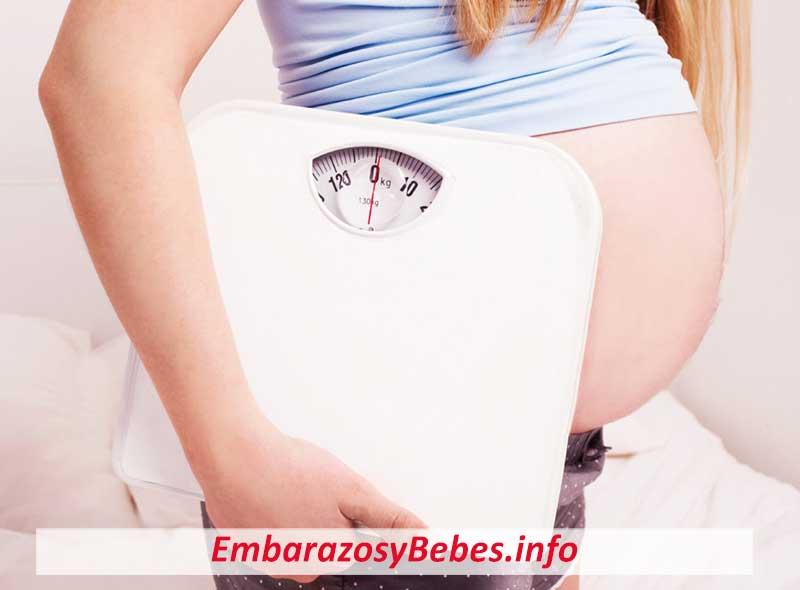 Ganancia De Peso en el Embarazo