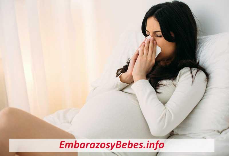 Embarazo y Gripe