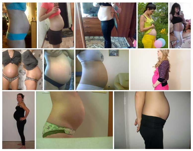 Semana 25 de Embarazo Panza