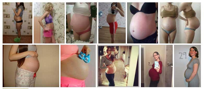 Semana 29 de Embarazo Panza