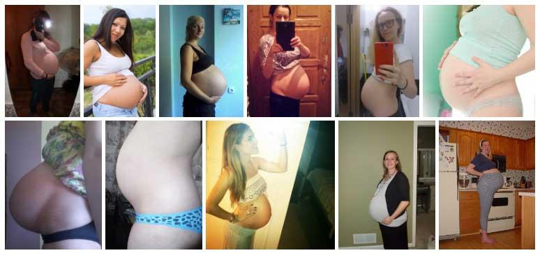 Semana 39 de Embarazo Panza