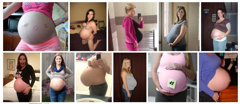 Semana 42 de Embarazo Panza