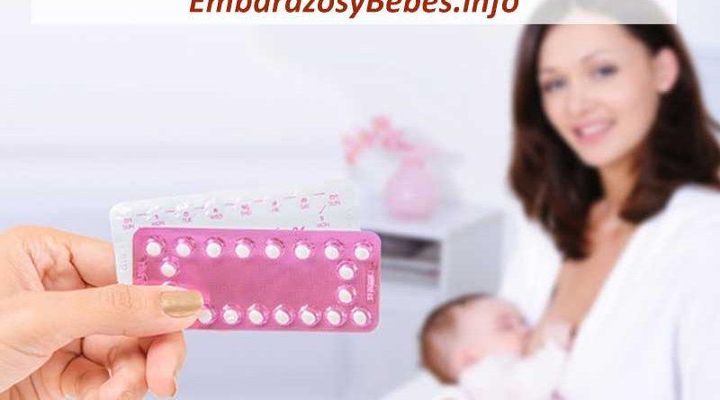 Anticonceptivos y Lactancia Materna