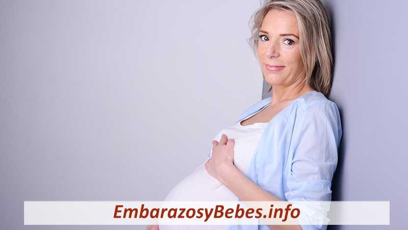 embarazo después de los 35 años