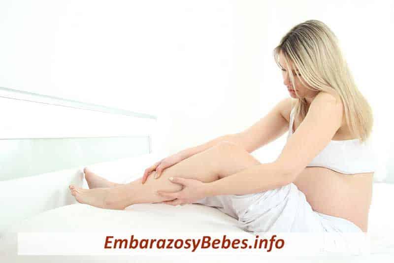 calambres en el embarazo en las piernas