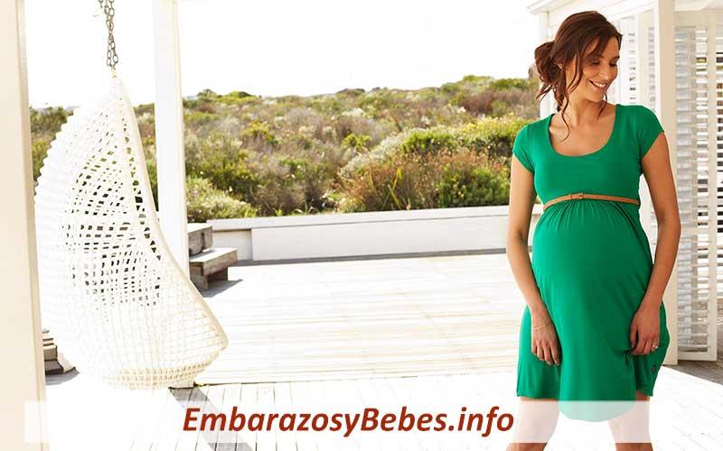 como vestir durante el embarazo