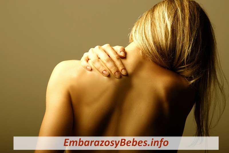 dolor de espalda alta en el embarazo