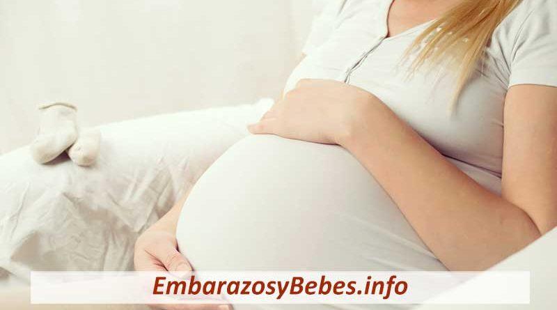 hinchazón abdominal en el embarazo