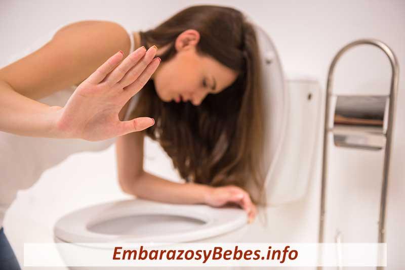 intoxicación alimentaria en el embarazo