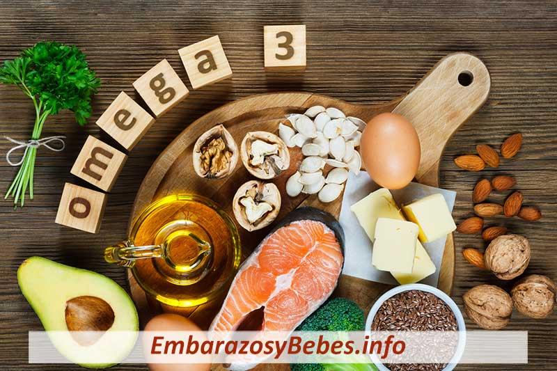Tomar Omega 3 en el Embarazo
