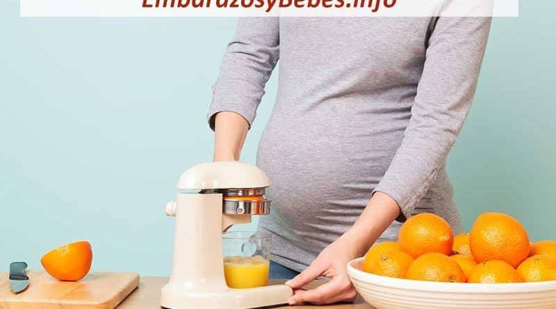 vitamina c en el embarazo