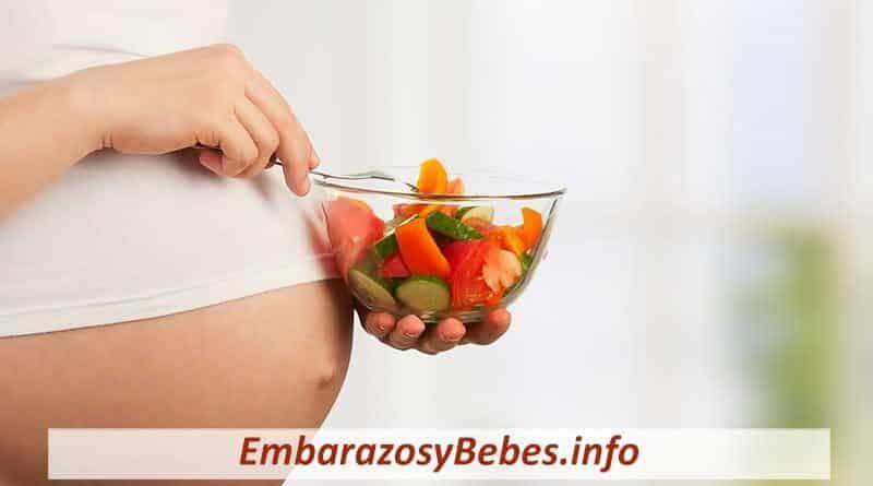 que comer en el segundo trimestre de embarazo