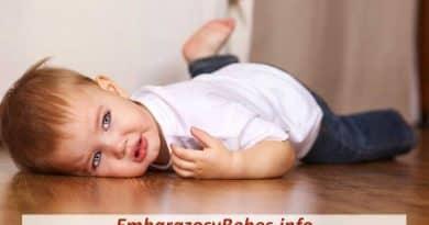 que hacer cuando un bebe se cae dela cama