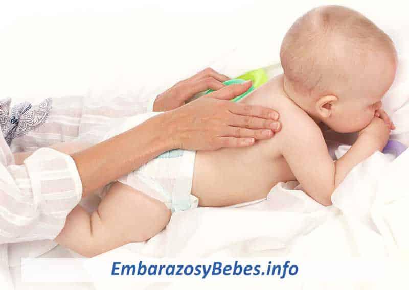 massages relaxants pour bébés