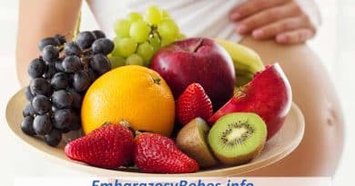 frutas en el embarazo