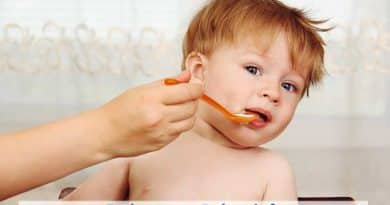 mi bebe no quiere comer solidos