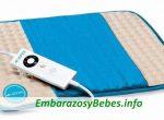 ¿Se puede usar una almohadilla térmica durante el embarazo?