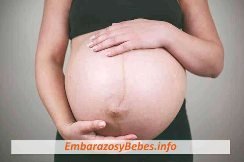 linea alba en el embarazo