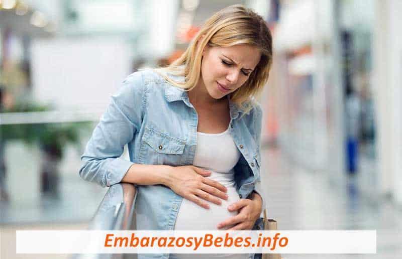 Golpe en el estómago estando embarazada